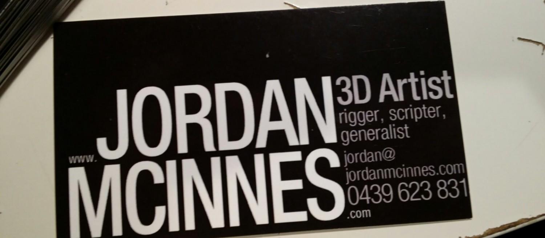 Jordan McInnes Portfolio Site